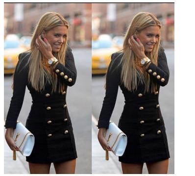 2015 dubbelbröst jacka v nacke slim outwear stickad vinterjacka kvinnor kappa medium långa casual jackor för kvinnor nya grundläggande