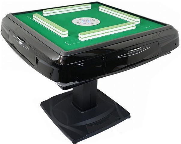 2021 Vente directe Top Fashion Plastic En Plastique Mahjong Table Mahjong Ensemble d'échecs Chess Horloge d'échecs Ajedrez Table automatique Mahjong Table
