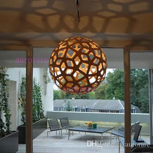 David Trubridge Koralle Anhnger Lampe Holz Licht Pendelabhngung Beleuchtung Materiell Wohnzimmer Restaurant