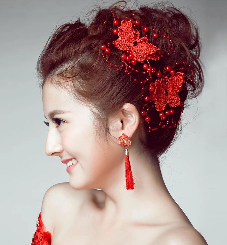 Bride Headdress Korean Jewelry Headdress