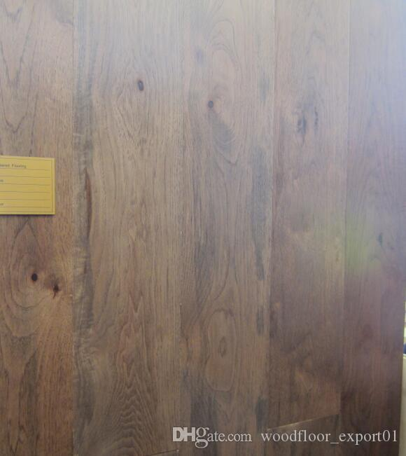 Oak 3-layer Engineered Wood flooring Large living Crack floor European Oak Merbau wood Natural oil Simple Wood wax wood Asian pear Sapele w