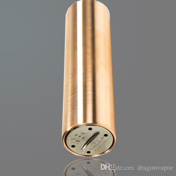 SMPL Mecânica Mods Sem Pin de Contato Menor Perda de Potência Usando 18650 Bateria 510 Rosca Para RDA Ártico Tanque Sub Tanque DHL Navio Livre