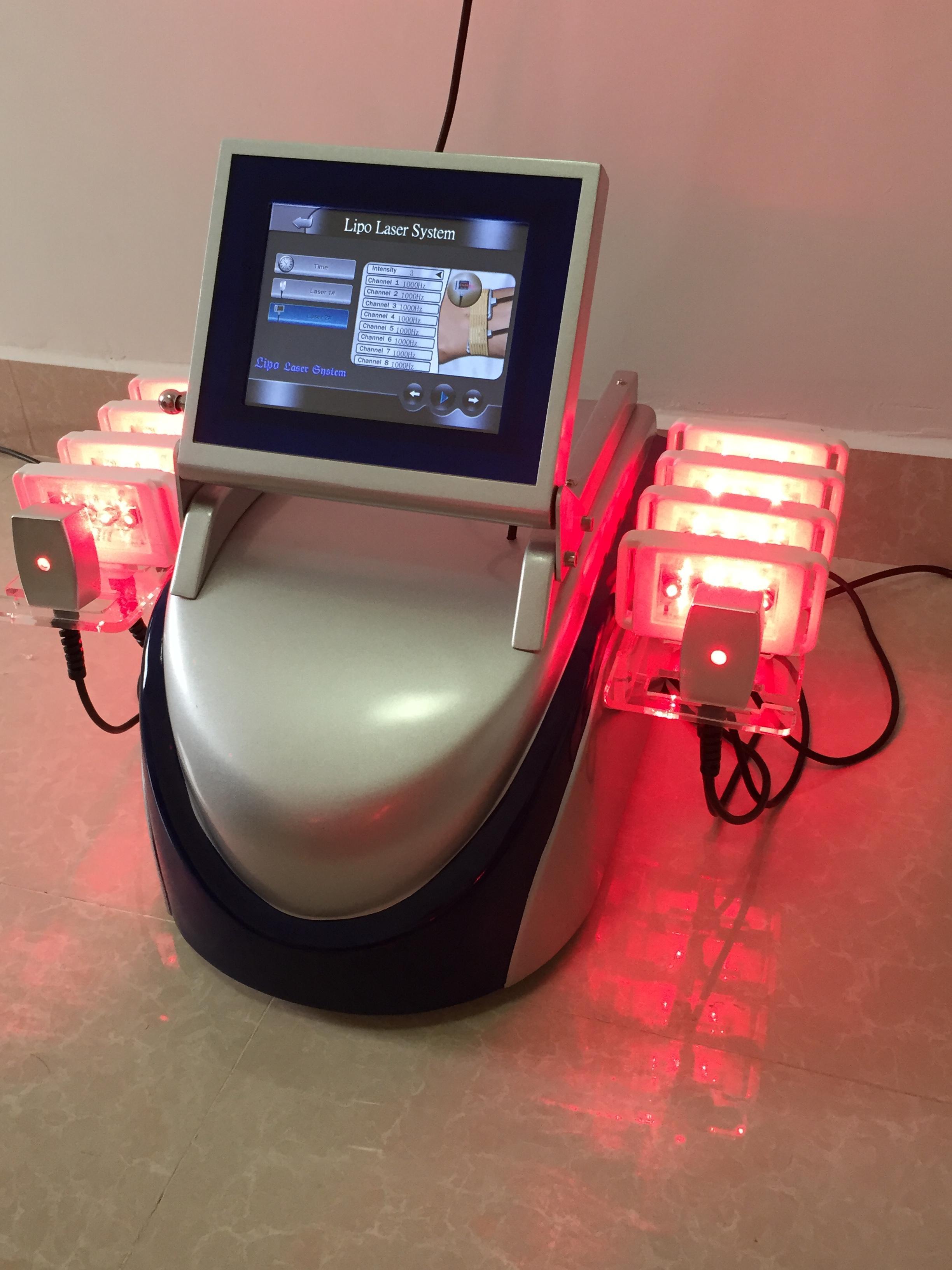 레이저 lipolysis 치료 lipolaser 슬리밍 기계 체중 감량 셀룰 라이트 감소 lipo 레이저 장치