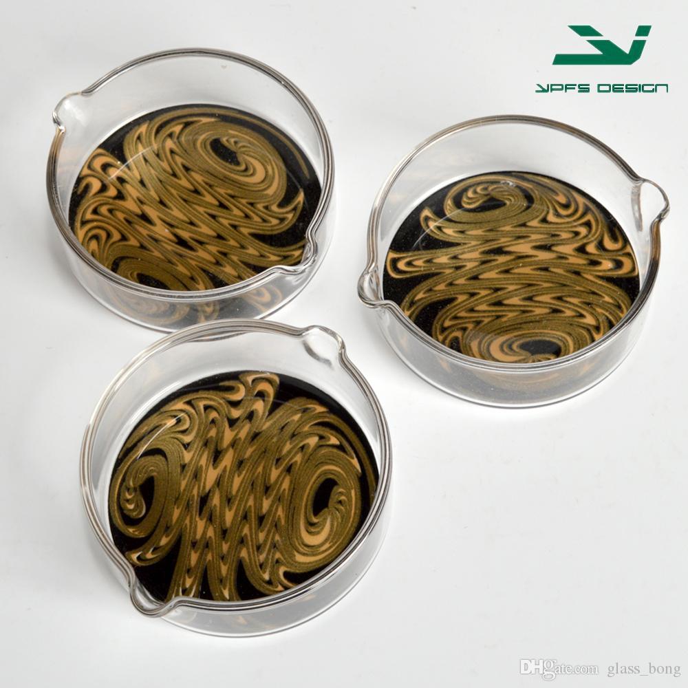 Plato de vidrio barato para el colector de néctar para el plato de vidrio para fumar de la tubería de fumar del vidrio envío libre