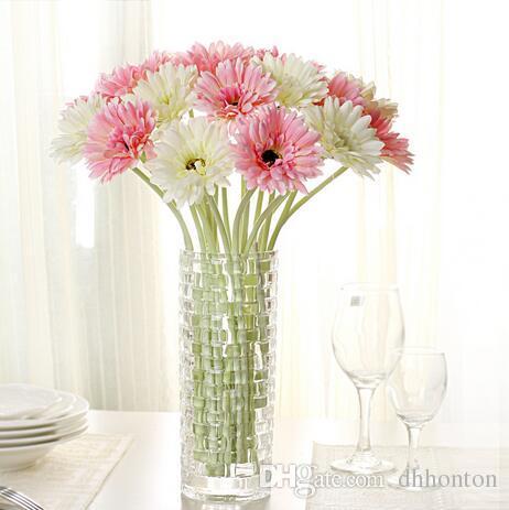 20pcs fiore di seta artificiale sole fiore gerbera chrysanthemi e fiori decorativi del partito festivo e partito vendita calda di trasporto libero SF07