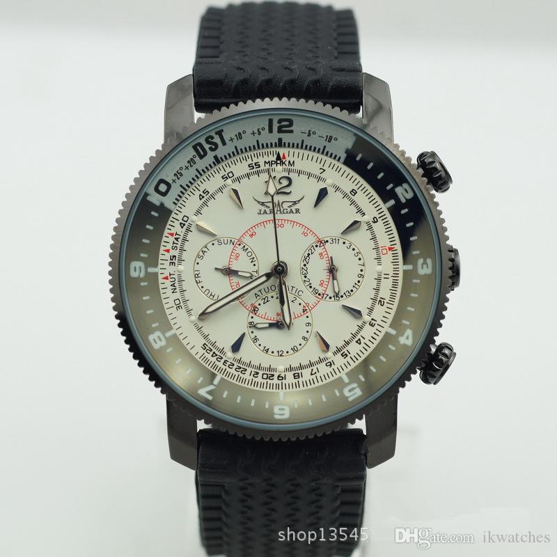 송료 무료 남성용 스포츠 남성용 시계 jaragar 기계식 자동식 손목 시계 JR29