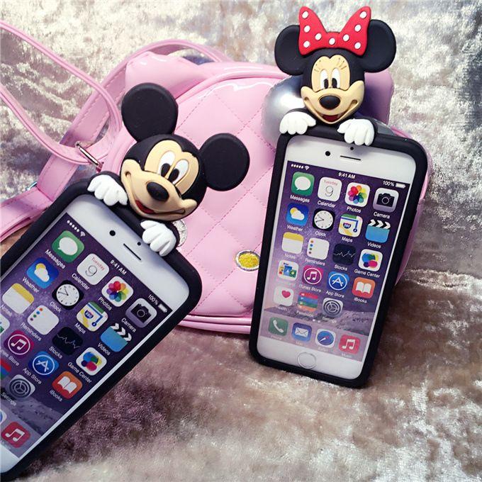 6SPlus Case Disney Mickey Minnie Mouse