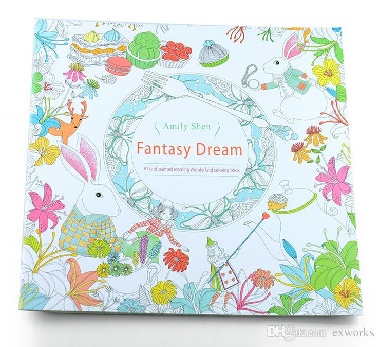 Lost Ocean Secret Garden An Inky Treasure Hunt And Coloring Book Enchanted Forest Pages