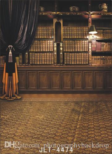Tema de interior y de piso Muselina de vinilo Fotografía Telones Prop Photo Studio Background JLT-4474