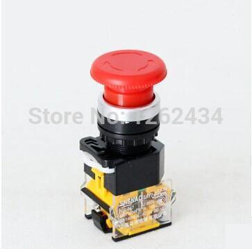 pulsante di arresto di emergenza a fungo LAY38-11ZS pulsante autobloccante