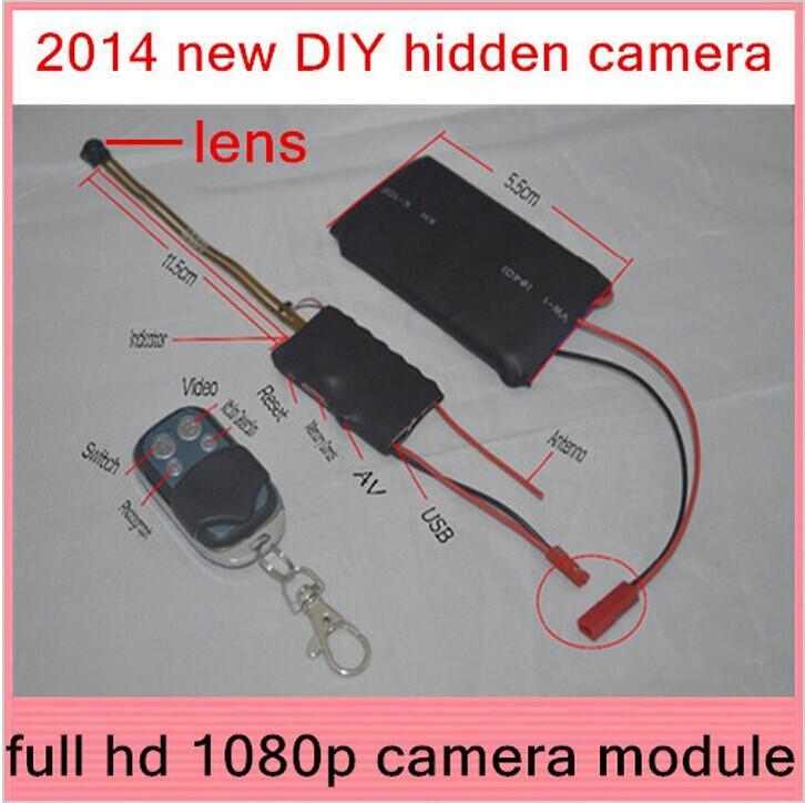 Hot Sale Full Hd 1080p Spy Camera Dvr Cctv Video Recorder Diy Cam Module Mini Camcorders Hidden High Capacity Batterry Bullet Camera Bullet Cameras