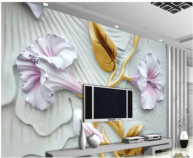 Custom photo wallpaper 3D European Relief retro sofa backdrop 3d wallpaper 3d mural wallpaper 20155389