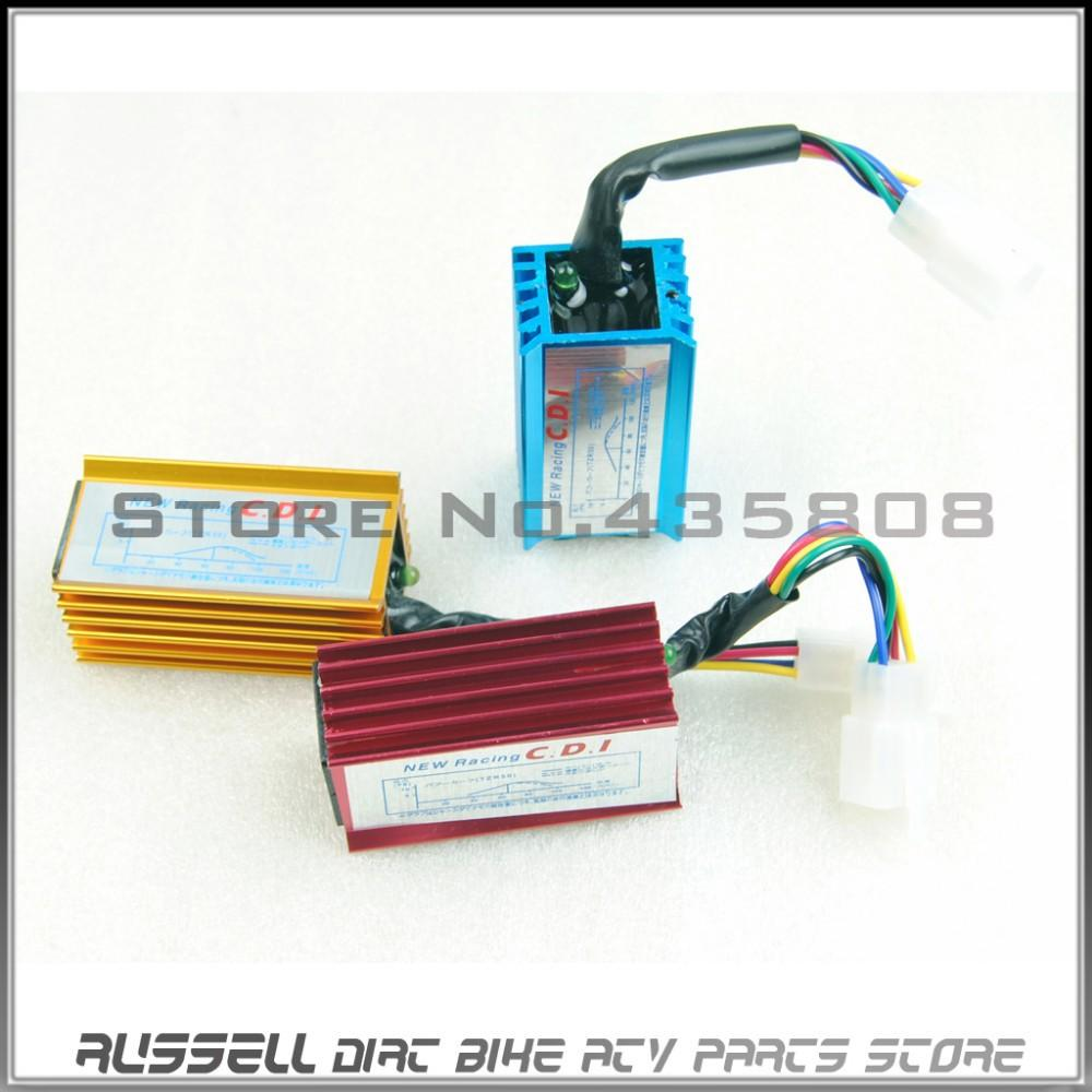 High Performance racing CDI Box 5 Wires Colorful For 50cc - 160cc ...