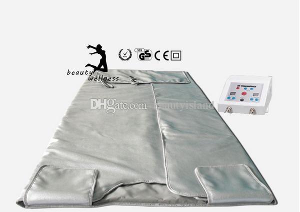 FIR Sauna Far Infrared Sauna Blanket Heating Therapy Body Slimming Bag SPA Body Detox Weight Loss Machine Free Shipping