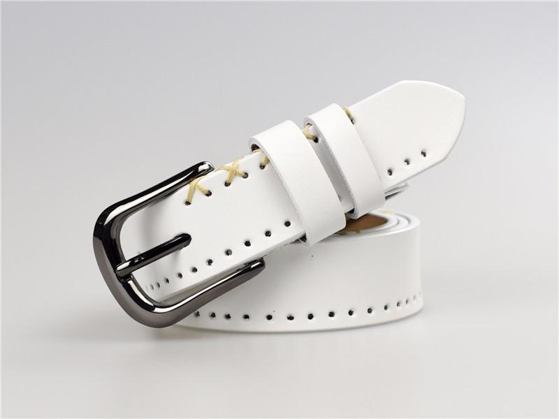 Kadınlar 95 -110cm için% 100 Gerçek inek derisi Deri Kemer Kadınlar Jeans Bayan Kemer kayışı Moda Kayışlar