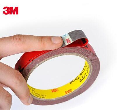 Seamless ultra strong 3M double-sided adhesive foam sponge thin waterproof tape high temperature automotive vehicle for