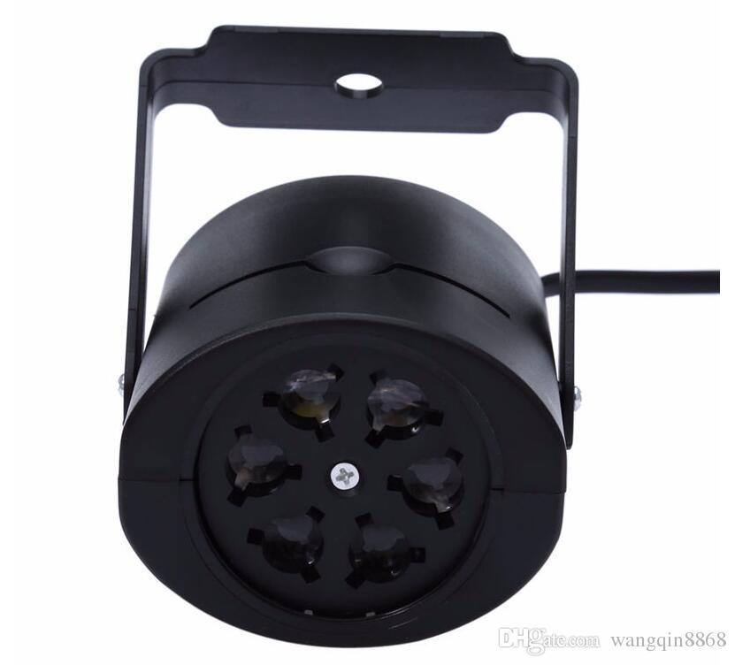 야외 심장 눈 스파이더 Bowknot 박쥐 크리스마스 레이저 프로젝터 램프 LED 무대 조명 파티 풍경 빛 정원 램프 조명