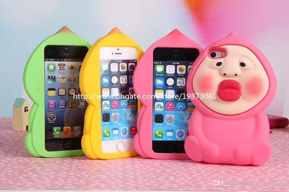 fart iPhone 5/5s Glitter clear case