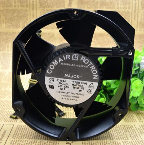 Оптовая: оригинальный вентилятор 230VAC 172MMX55MM MA77B3 COMAIR алюминиевая рама AC