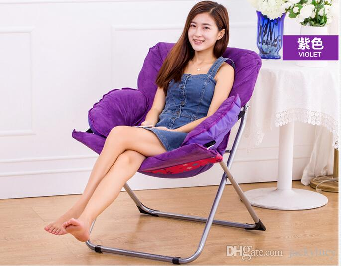 Astonishing 2019 Fashion Foldable Living Room Computer Chair Soft Furniture Sofa Leisure Chairs For Kids Women Best Gifts Available From Jackylucy 146 9 Cjindustries Chair Design For Home Cjindustriesco
