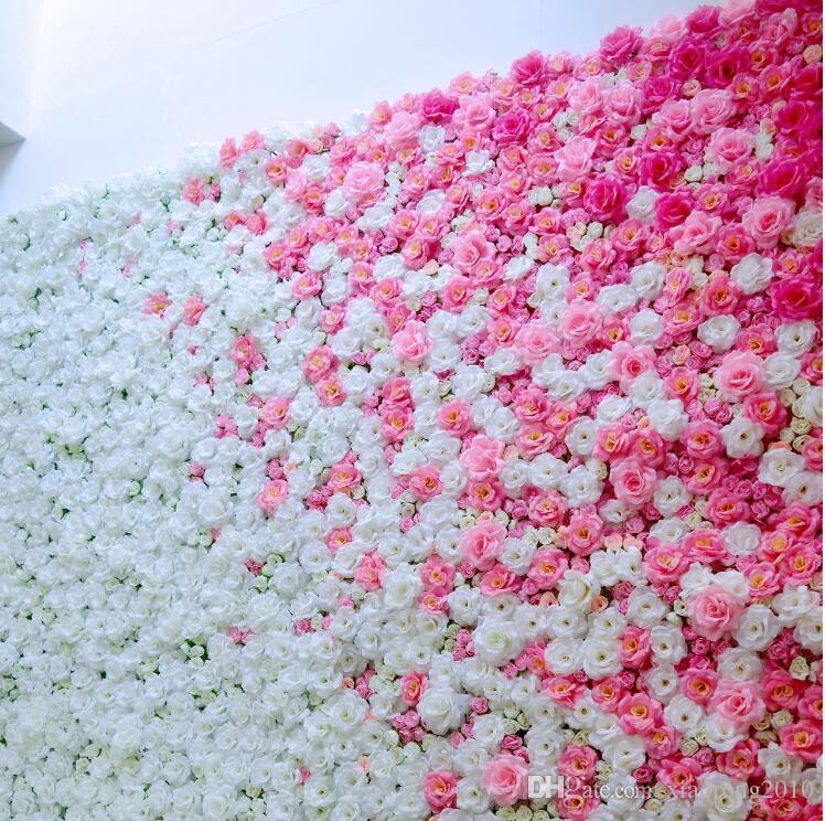 7 centimetri Rosa di seta delle teste di fiore artificiale di simulazione Fiori Peonia Rosa per DIY Bridal Bouquet baciano cerimonia Decorazione Floreale