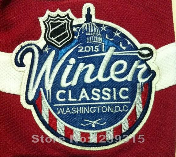 1-2015 Winter Classic Washington Hockey Jerseys #8 Alex Ovechkin Jersey Authentic Alexander Ovechkin Stitched Jerseys C Patch_5