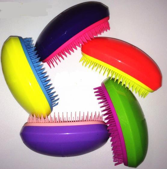 Portable Bright Colors Anti-Static Hair Styling Comb hair Brush Comb Drop Shipping Hair Brush detangler Hair Comb Anti-static Styling Tool