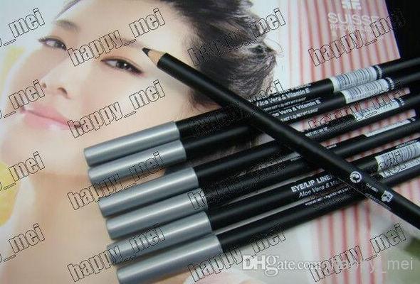 Бесплатная доставка ePacket новый профессиональный макияж 1.5 г карандаш для глаз / губ!черно-коричневый