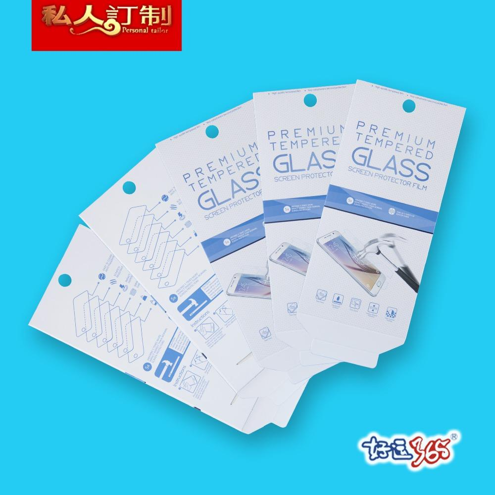1000ps/lot Universal Tempered Glass Screen protector Retail Package box for iphone 6/6 plus note 5 s6