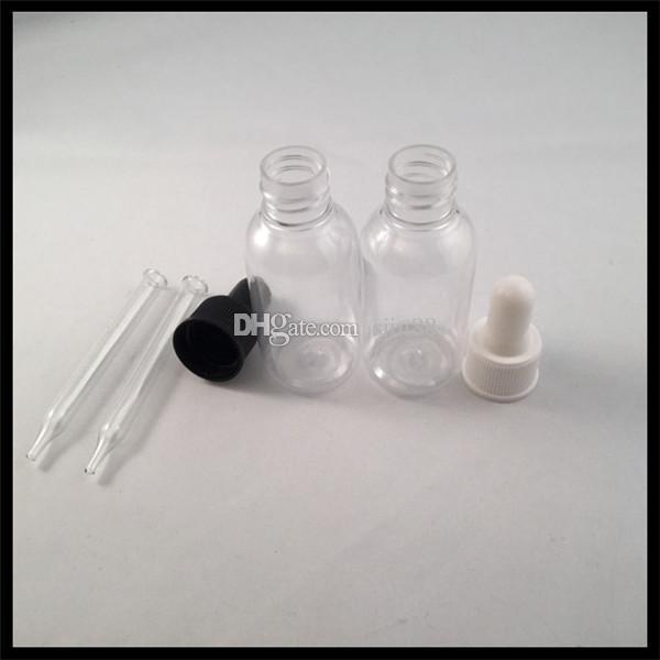 30 ml Plastik Şişe E Sıvı Şişe Ile Uçucu Yağ Şişesi Çocukların Açamayacağı Cap Cam Keskin Tüp Damlalık E Sigara E Sıvı Şişe