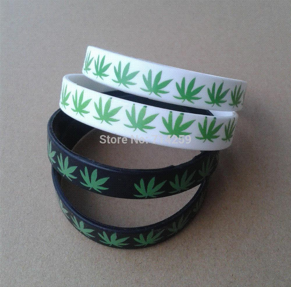 100pcs custom one color print texts & logo rubber wristbands P11128 silicone bracelet for events & promotion gift