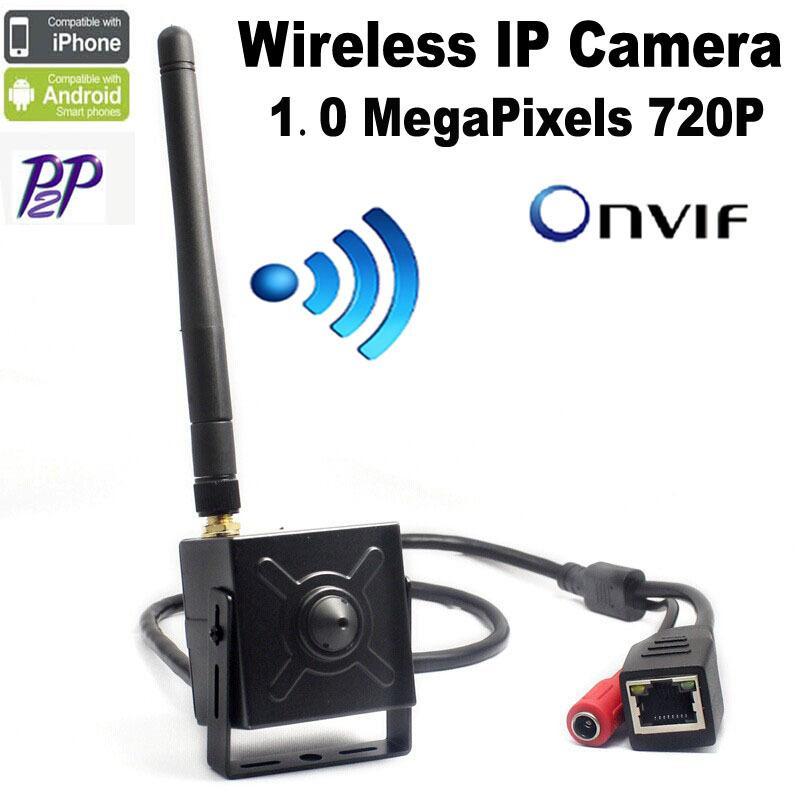 mini wifi ip-kamera Drahtlose 720 P Onvif HD ip kamera wifi P2P Stecker Spielen mini wifi kamera ip cctv für 3,7mm pinhole objektiv Hi3518E
