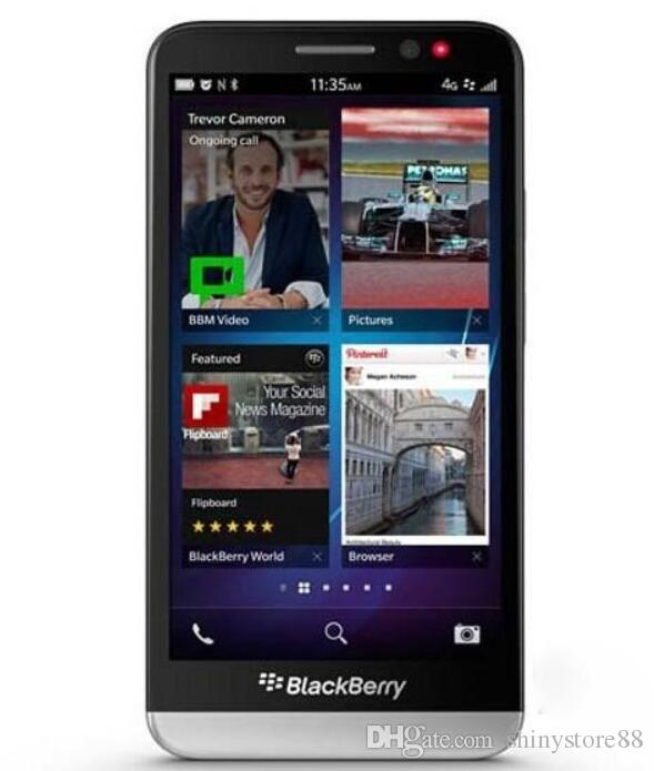 Original BlackBerry Z30 5.0 inch BlackBerry OS 10.2 Qualcomm MSM8960T Pro 3G Smart Phone 2GB/16GB 8MP Refurbished Mobile Phone