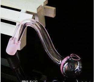 Frete grátis por atacado - rosa pote de vidroAcessórios de narguilé por atacado - produtos de vidro colorido pote pote assado com acessórios, cor aleatória d