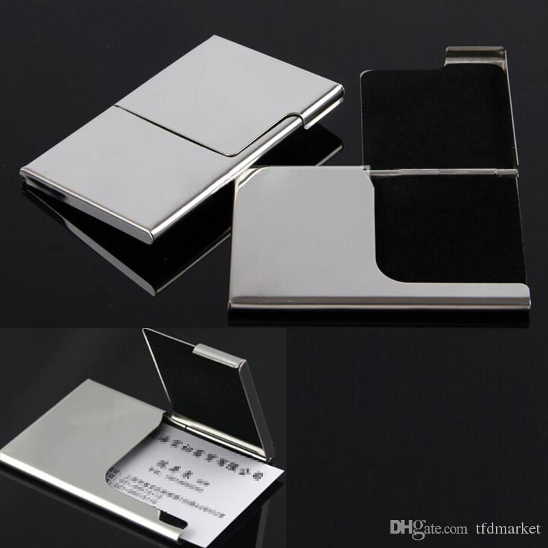 Creative Semi-open Business Driver ID Credit Card Holder Protector ...