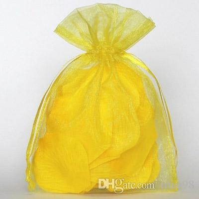 골든 오가자 선물 포장 가방 7x9cm 9x12cm 10x15cm 12x17cm 에센셜 오일 병 비누 안경 시계 메이크업 쥬얼리 돈주머니 파우치