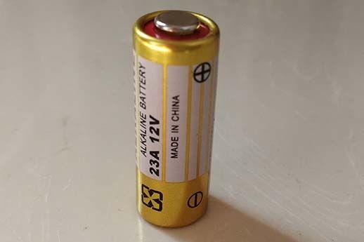 0٪ Hg Pb خالي من الزئبق A23 Battery 12V 23GA MN21 قلوية طازجة 100٪