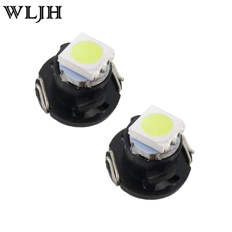 WLJH T3 T4.2 T4.7 LED Neo Wedge Switch Radio Climate Control Bulb Instrument Dashboard Dash Indicator Light Bulb Ac Panel Bulb