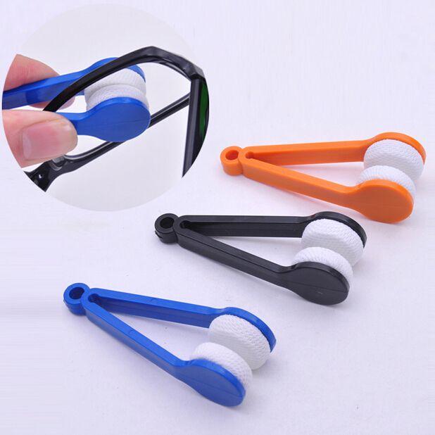 10 PCS Gafas de sol Eyeglass Microfiber Brush Cleaner Nuevo envío al azar Eye Glass Gafas de sol Lens Cleaning Wipes Cleaner CYB30