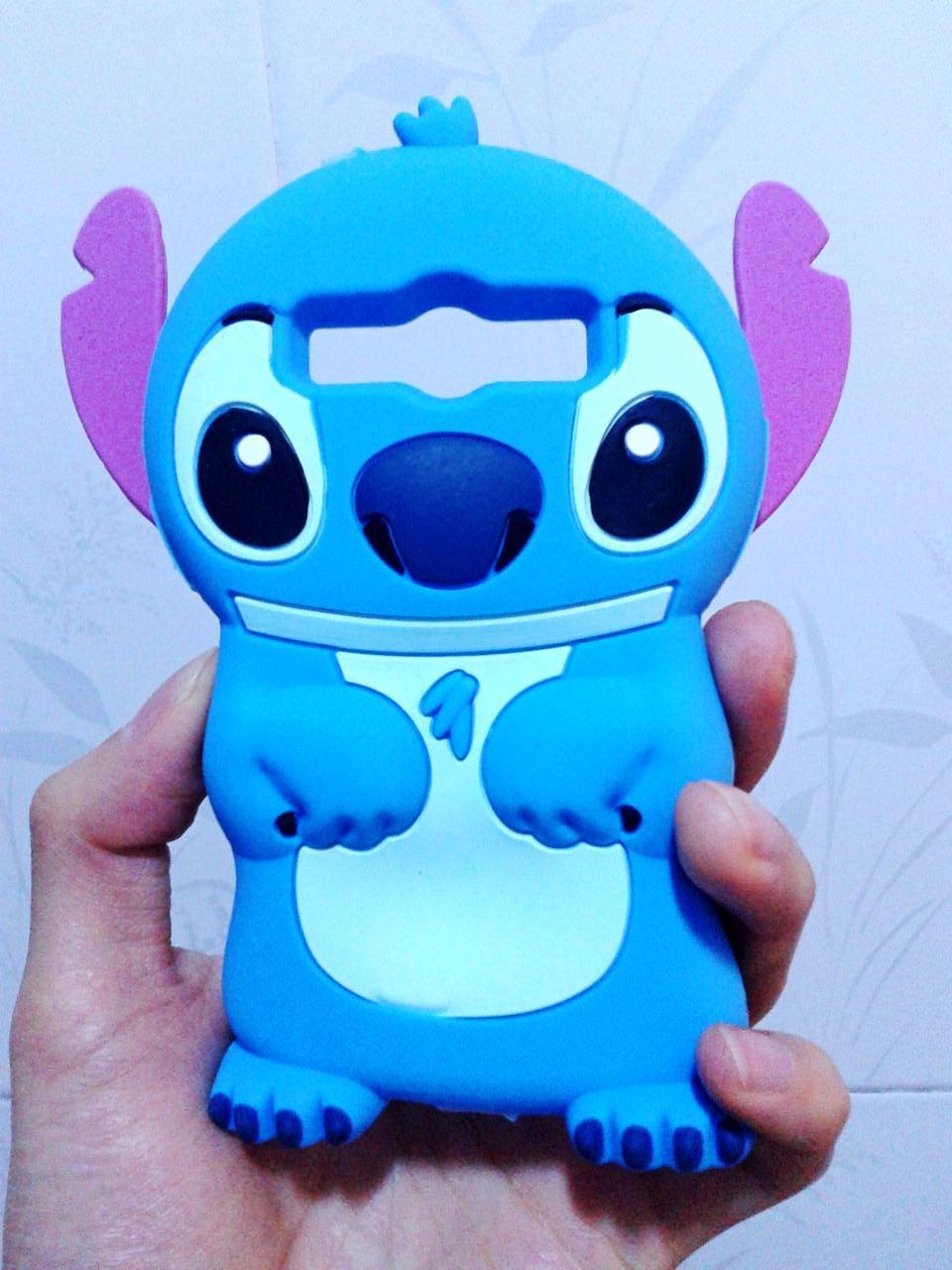 Cute Cartoon Stitch 3D Silicone Case Back Cover For Samsung Galaxy ...