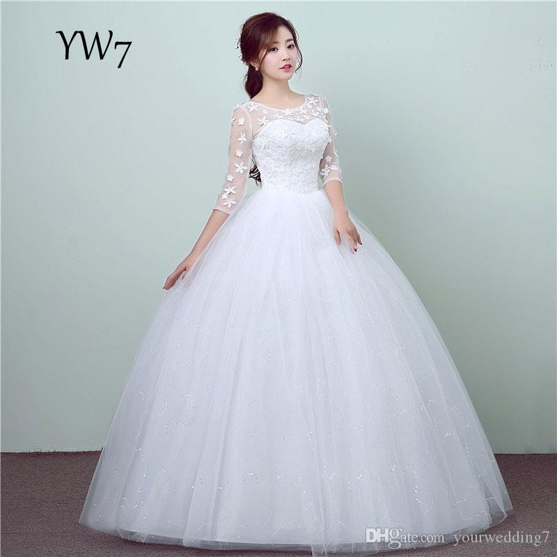 A Line Wedding Dresses 2017 Vintage Pockets Bow China Backless Plus ...