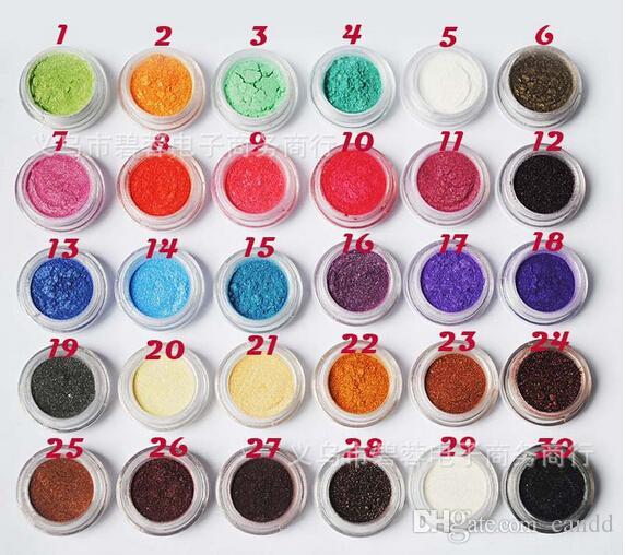 Poudre de fard à paupières haute-lumière de haute qualité 20 couleurs paillettes fard à paupières (ombre à paupières, brillant à lèvres, fard à joues,