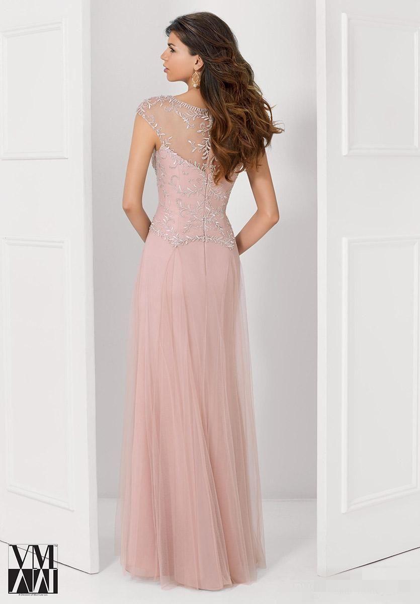Compre 2015 Vestidos De Noche Formal Azul Real Rosa Mangas Casquillo ...