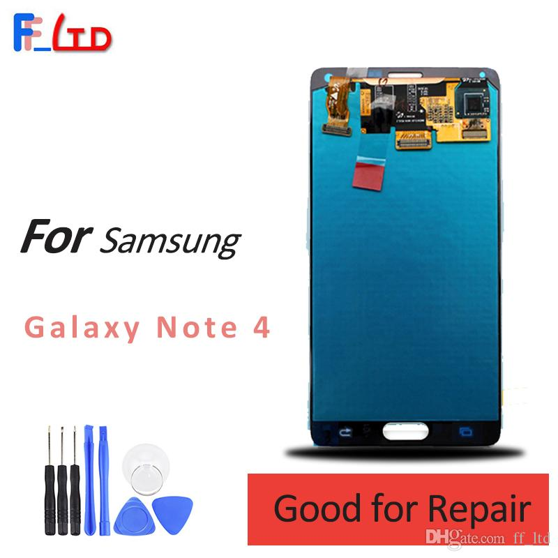 Original screen for Samsung Galaxy Note 4 LCD Display Digitizer and Touch Screen Assembly N910 N910T N910P N910R4 N910V N910A N910E N910H