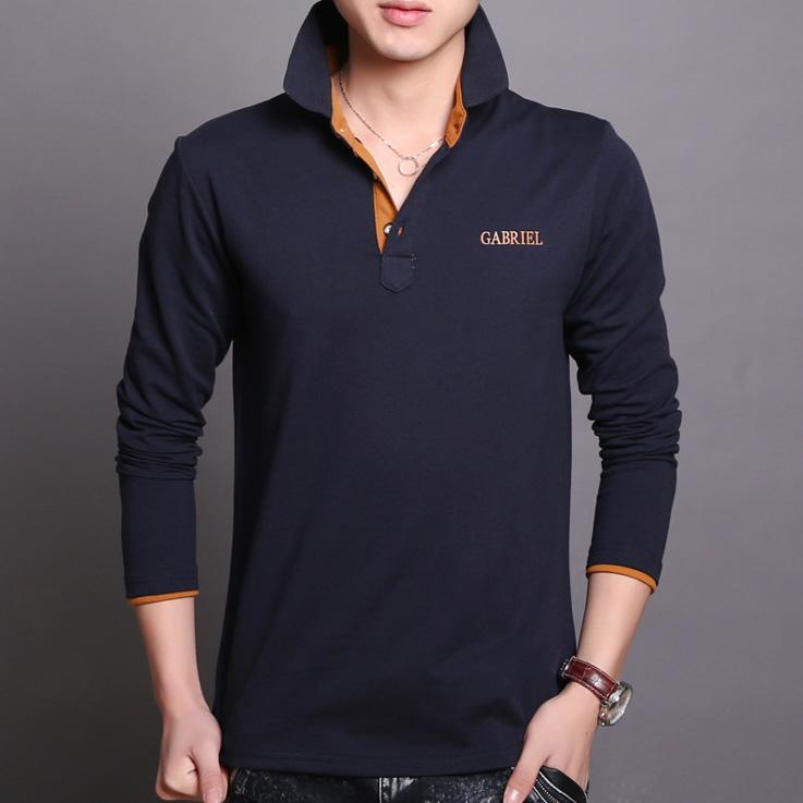 폴로 셔츠 코튼 긴 소매 폴로 셔츠 남성 slim fit 폴로 t 셔츠 도매 남성 미국 티셔츠 폴로 브랜드 셔츠 비즈니스 폴로 셔츠