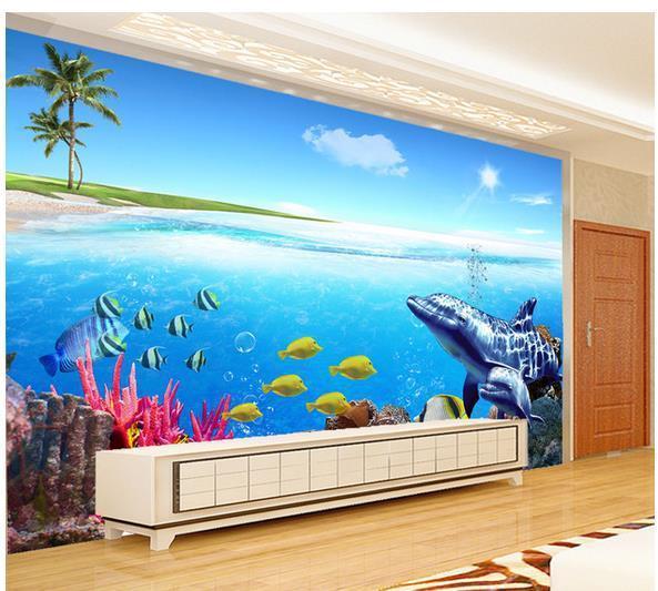 Large mural wallpaper papel de parede Kids Room Ocean wallpapers wholesale Factory Direct 20154268