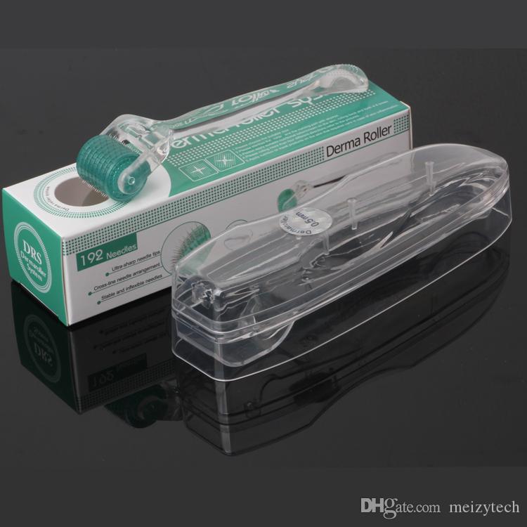 التيتانيوم DRS 192 مايكرو إبرة ديرما الرول الجمال العناية بالبشرة تجديد المضادة للتجاعيد ندب حب الشباب العلاج العلاج دائرة الظلام