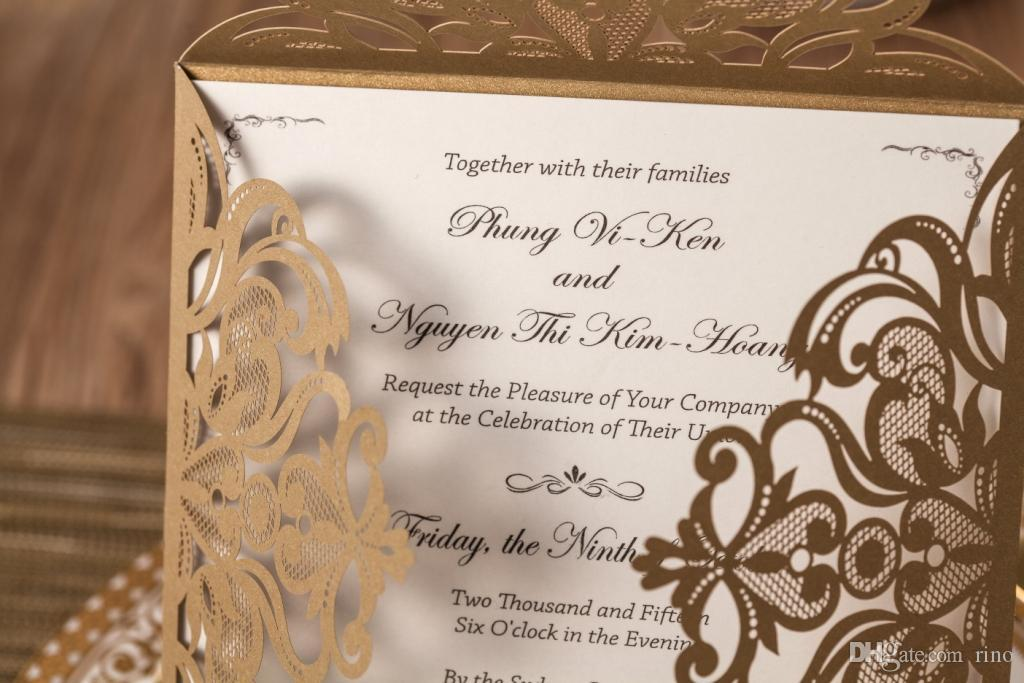 Invitation mariage impression