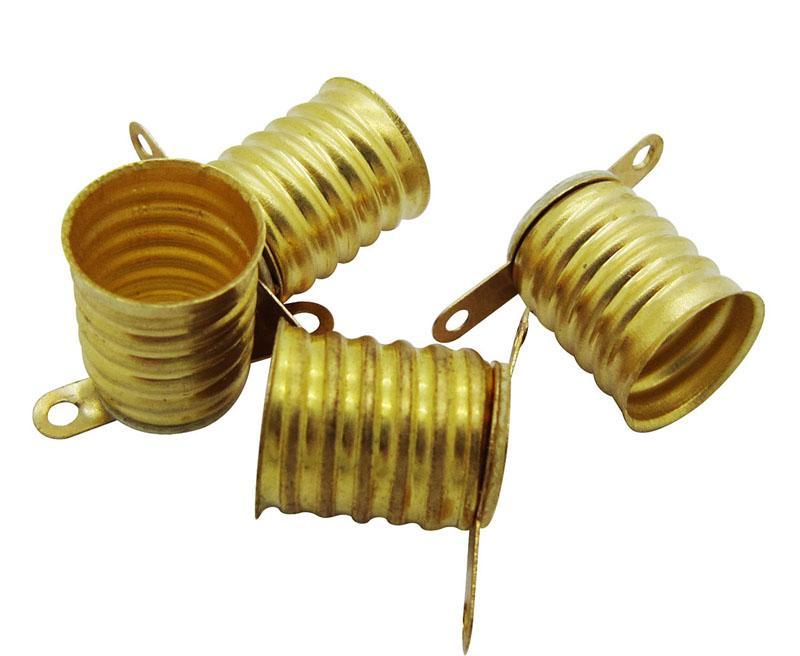 Titolare della lega di rame E10 Base lampada Per lampada LED 12V vite lampadine