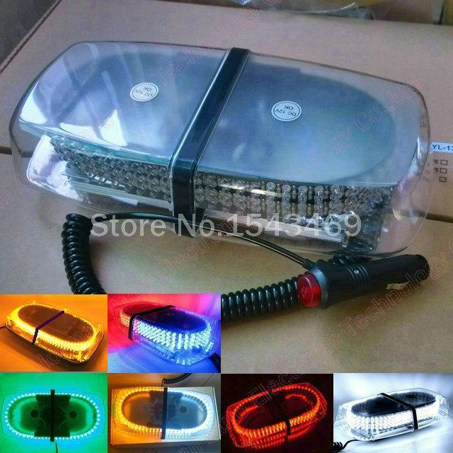 Автомобильные крышные фонари 240 светодиодов 240 светодиодных грузовых автомобилей на крыше мигающий строб аварийного аварийного освещения 6 цветов